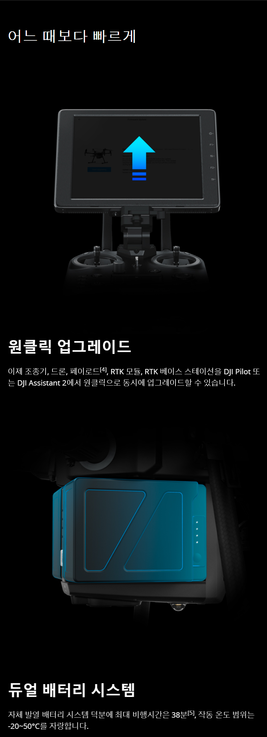 DJI MATRICE 210 V2 매트리스 210 V2 드론 코세코
