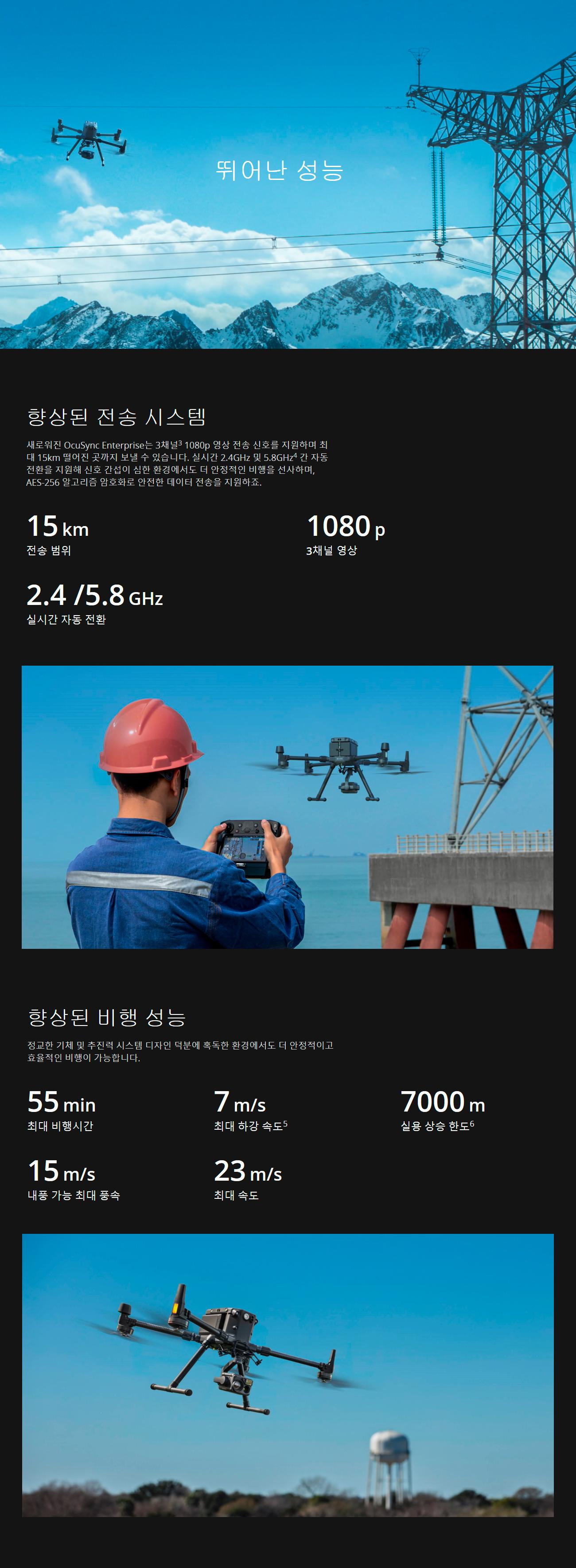코세코 드론 DJI Matrice 300 RTK