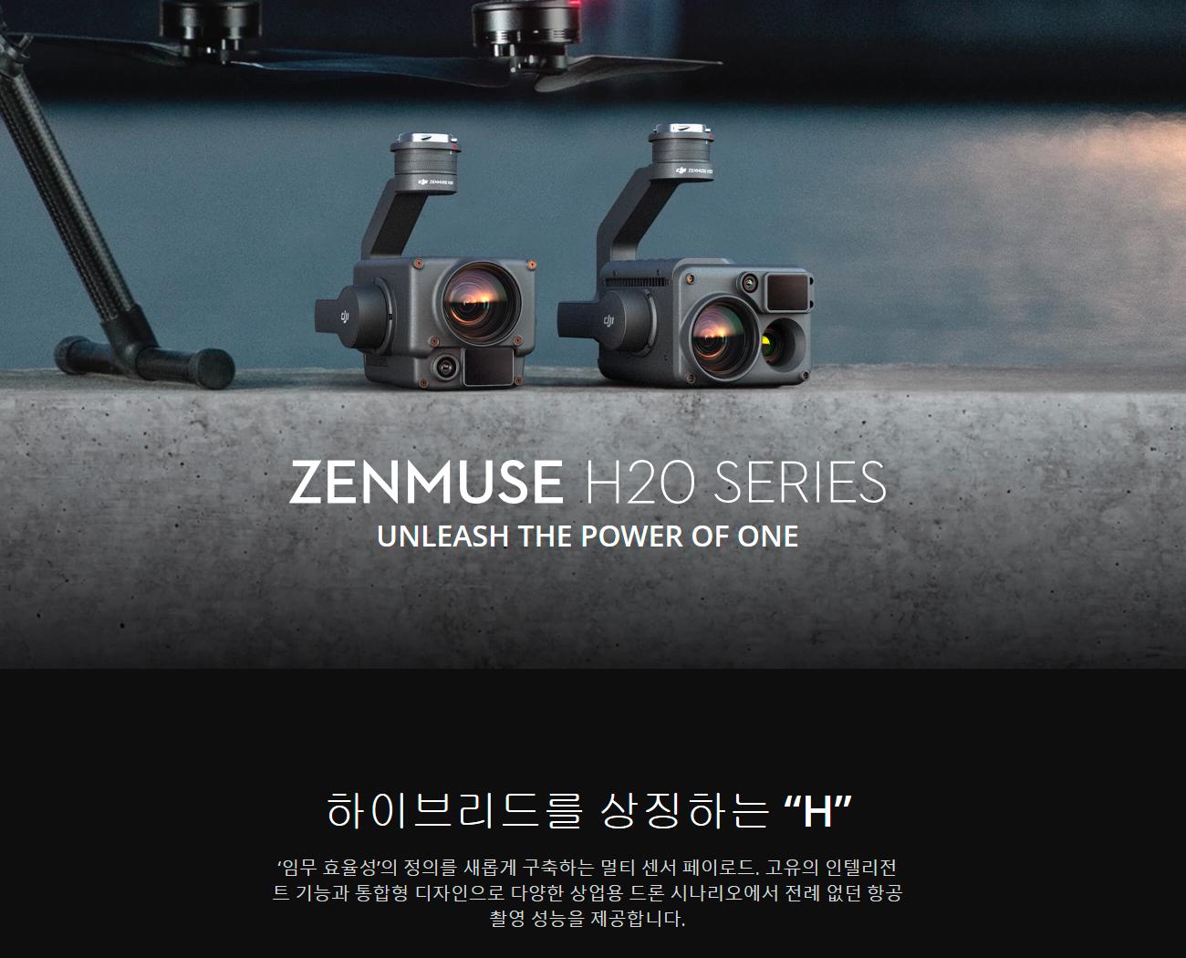 코세코 DJI 젠뮤즈 Zenmuse H20 Series